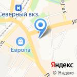 Бизнес Консалтинг на карте Калининграда