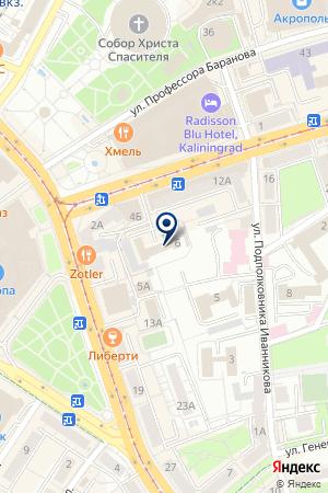 ИПОТЕЧНЫЙ КРЕДИТНЫЙ ПОТРЕБИТЕЛЬСКИЙ КООПЕРАТИВ СВОЙ ДОМ на карте Черняховска