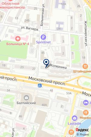 ТОРГОВО-МОНТАЖНОЕ ПРЕДПРИЯТИЕ СИСТЕМЫ СИГНАЛИЗАЦИИ на карте Калининграда