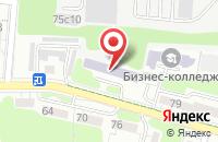 Схема проезда до компании Бизнес-Прод 14 в Калининграде