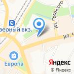 Табаско на карте Калининграда