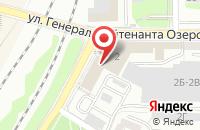 Схема проезда до компании Ксанострой в Калининграде