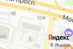 Схема проезда до компании Инвестиционно-строительная компания Мир в Калининграде