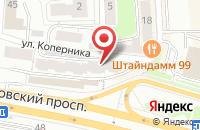 Схема проезда до компании Дон в Калининграде