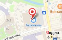 Схема проезда до компании Наш Город в Калининграде