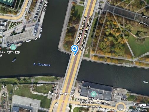 Сдаю 2-комнатную квартиру, 50 м², Калининград, проспект Ленинский