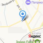 Энергия старта на карте Калининграда