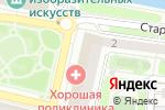 Схема проезда до компании SprintNet в Калининграде
