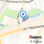 От и До на карте Калининграда