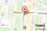 Схема проезда до компании Биэф Сервис Плюс в Калининграде