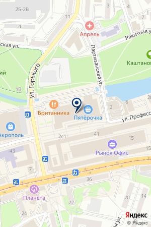 ПРОМЫШЛЕННАЯ СТРАХОВАЯ ГРУППА ОСНОВА на карте Калининграда