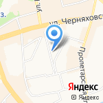Страна Калининград на карте Калининграда
