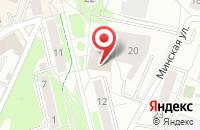 Схема проезда до компании Управленец в Калининграде