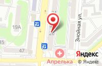 Схема проезда до компании Луч в Подольске