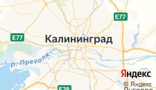 Хостелы города Калининград на карте