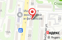 Схема проезда до компании ОранжВилль в Абинске