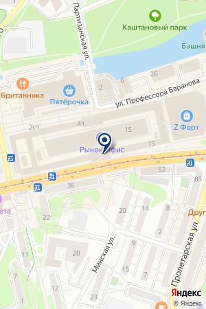 АГЕНТСТВО НЕДВИЖИМОСТИ РИМАС ЛТД на карте Черняховска