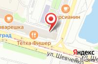 Схема проезда до компании Техпромторг в Калининграде