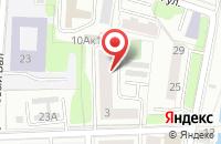 Схема проезда до компании ФКМ Восточная Европа в Калининграде