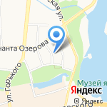 Инстройпроект на карте Калининграда