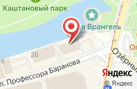 Схема проезда до компании Алеф Трейд Калининград в Калининграде