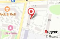 Схема проезда до компании Формула-Авто в Калининграде