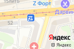 Схема проезда до компании Оптика Фрейм39 в Калининграде