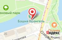 Схема проезда до компании Башня Врангеля в Калининграде