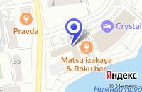Схема проезда до компании БЮРО РЕКЛАМНЫХ УСЛУГ ИНСАЙТ в Калининграде