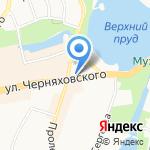 Красота для Вас на карте Калининграда