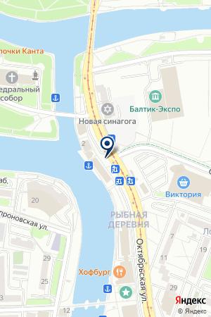 Renovatio на карте Калининграда