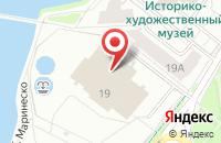Схема проезда до компании Медиа ТВ в Калининграде