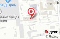 Схема проезда до компании Коралл Сервис в Калининграде