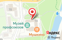 Схема проезда до компании Гермес в Калининграде