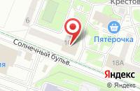 Схема проезда до компании Нео-Стиль в Калининграде