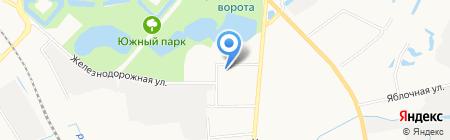 РегионСтройСервис на карте Калининграда