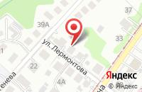 Схема проезда до компании Производственная Компания  в Калининграде