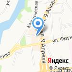 Магазин товаров для шитья и рукоделия на карте Калининграда