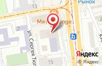 Схема проезда до компании Бизнес-Прод 4 в Калининграде