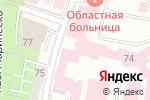 Схема проезда до компании Калининградская областная клиническая больница в Калининграде