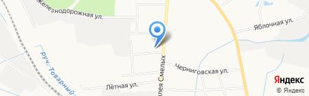 Миссия-Балт на карте Калининграда