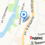 Organique на карте Калининграда