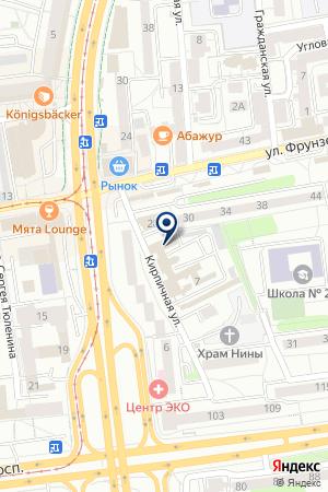 БАЛТИЙСКАЯ ЭЛЕКТРОКОМПАНИЯ на карте Калининграда