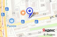 Схема проезда до компании МАГАЗИН ОДЕЖДЫ ГЛОРИЯ ДЖИНС в Славске