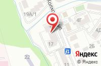 Схема проезда до компании Факел в Калининграде