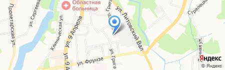 Евро-Сом на карте Калининграда