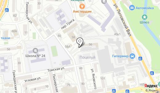 Евро-Сом. Схема проезда в Калининграде