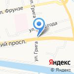 Люкс Оптик на карте Калининграда