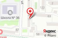 Схема проезда до компании Морпуть в Калининграде
