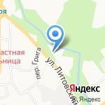 Аника Гараж на карте Калининграда